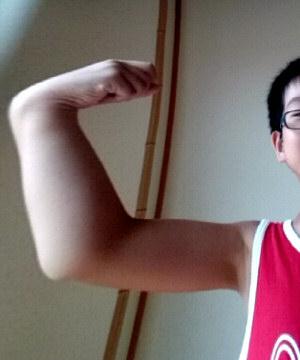 鍛えあげられた筋肉